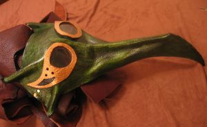 Steampunk Goggle Dragon Mask by TormentedArtifacts