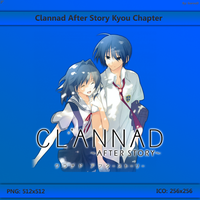 Clannad Kyou Chapter Anime Folder Icon 256x256 by GarouD