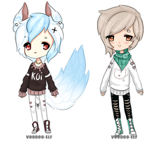 Adoptables [400point] -taken- by Voodoo-Elf