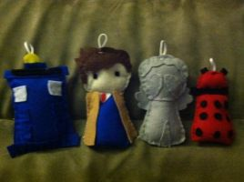 Doctor Who Baby Mobile WIP by AnbuSakuraChan