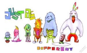 Just Be Different by rpmsauron