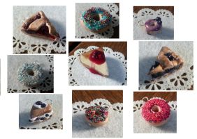 Cakes and donuts 2 by ilinea