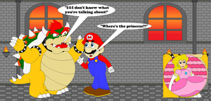 Bowser's Serious Interrogation by SuperUltraMarioFan