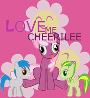 Love Me Cheerilee by DungeonTornado