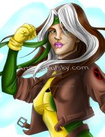 X-Men Rogue by ArtfulSkye