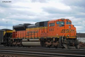 Unit Coal Train SD70ACe DPU 0313 10-6-13 by eyepilot13
