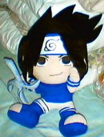 Sasuke plushie by gemospec5
