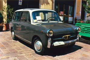 1965 Autobianchi Bianchina panoramica by GladiatorRomanus