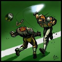 Jedi Football by Jonzy