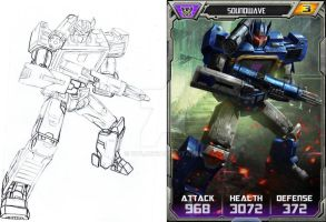 Transformers Legends Mobile Game Soundwave by 1314