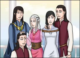 LotR/S: The House of Elrond by Houkakyou
