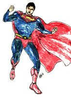 The Man of Steel colored by kyomusha