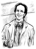 Vincent Schiavelli Sketch Card by dalgoda7