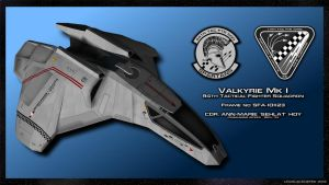 Valkyrie 94th TFS by unusualsuspex