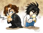 Two brilliant minds and their addictions by InYuJi