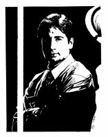 Mulder of the X Files by MJRiddle