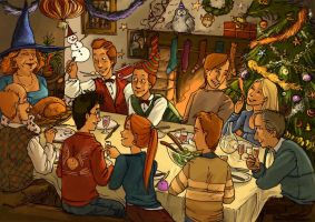 A Weasley Christmas (oldie) by Alda-Rana