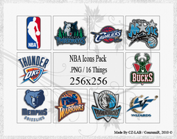 NBA Icons Pack by conzumir