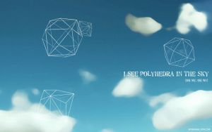 Polyhedra in the sky by Calliope00