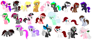 Free Adoptables batch 35 by Kitty-of-Doom524