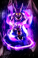 Beerus God of Destruction by 9tailsfoxyfoxy