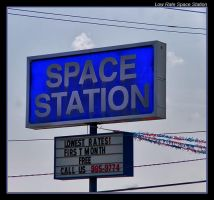 Low Rate Space Station by boron