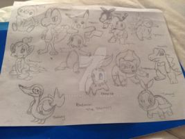 .:Starters:. by AferVentus