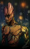 I. AM. GROOT. by ShawnnL