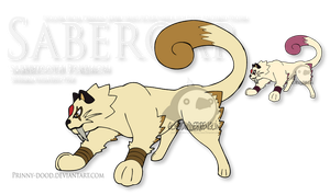 Fake Pokemon - Saberoar by Prinny-Dood