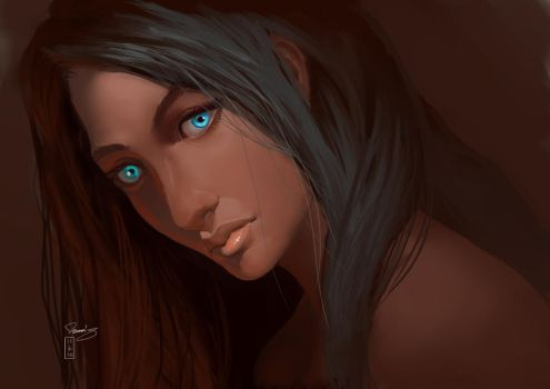 Blueyes by D-TERGENT