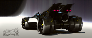 My batmobile rearshot by aconnoll