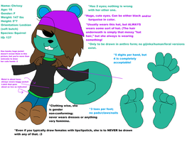 Chrissy (October 2014 Updated Ref) by ACPawz