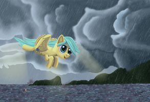 Art Collab - Raindrops by Bethiebo