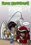 Christmas with Izm and A.E.D by Darqx