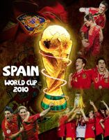 Spain for World Cup 2010 by eeipa