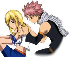 NaLu: What are you doing? [Coloring] by Jeako