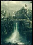 Ancient Falls - PHB concept by ColdFlame1987