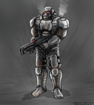 Heavy Trooper by ForTuchanka