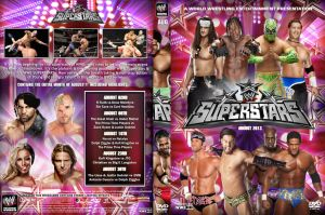 WWE Superstars August 2013 DVD Cover by Chirantha
