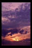 Skies Aflame III by ForcedReaction