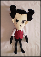 Don't Starve: Wilson Plush by sugarstitch