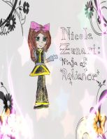 Nicole Zunari: Ninja of Everglowing Radiance -New- by Yellow-Phoenix