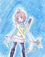 Cardcaptor Sakura in modern clothes by MizDawesome