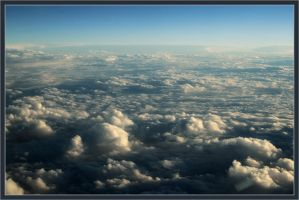 Sea of clouds by xerro