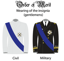 Wearing of the insignia of the order by empireofthrace