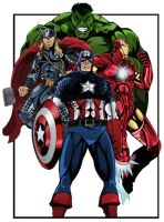 Avengers Assemble by TimelessUnknown