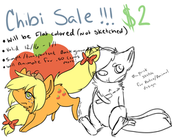 Chibi Sell by alinoravanity