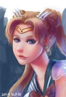 Sailor Moon by sgfw