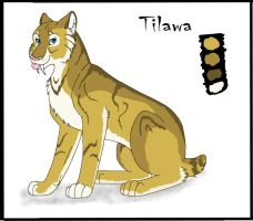 Tilawa character sheet by Feral-Dingo