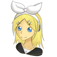 Kagamine Rin by LionessJess